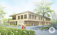 Model Neubau Kindertagesstätte Poststraße